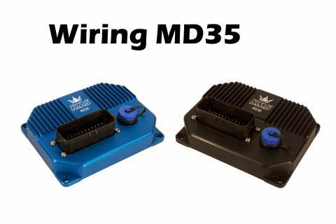 KMS MD35 Wiring