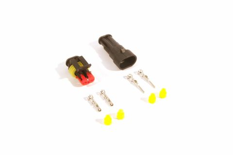 Superseal connector set 2-pin (pins & seals included)