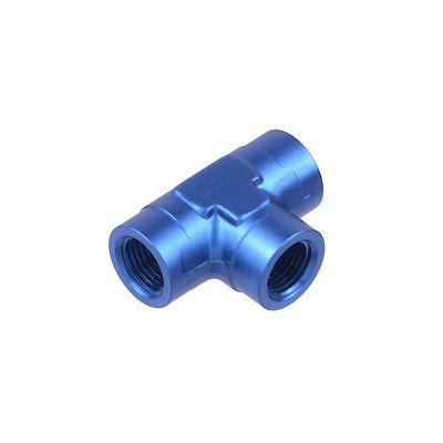Female pipe coupler NPT tee