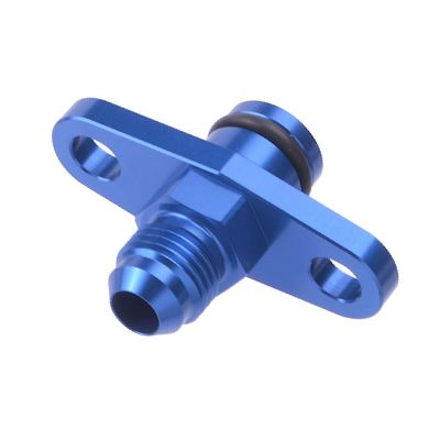 Turbo drain adapter with nut and silicon o-ring